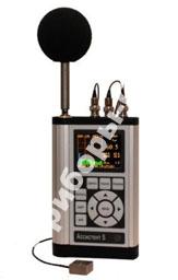 АССИСТЕНТ SIUV3 - шумомер, анализатор спектра в диапазоне: инфразвук, звук, ультразвук, виброметр трехкоординатный (с переключением каналов)